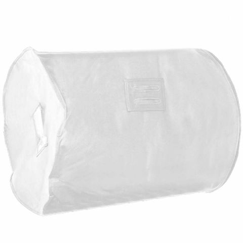White Breathable Feather Duvet Storage Bag & Carrier